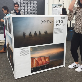 The McFarthest Place - Mark Kauzlarich Emergicube curated by James Estrin and David Gonzalez Co-Editors of the NYTImes Lens Blog