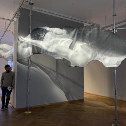 Model of Rio de Janero installation in Momentum by JR at MEP