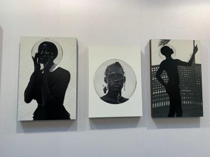 17. Djeneba Aduayom, Capsulate 3,2,and 7, 2018, Galerie  NO 8 at AKAA.JPG