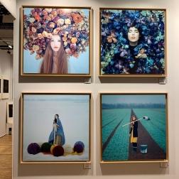 Oleg Oprisco, Portrait in Flowers, ARTPHOTOLIMITED, Fotofever